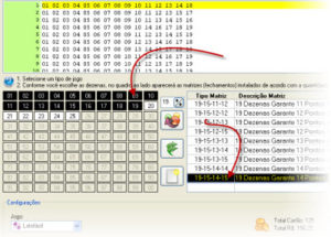 Simulando jogos de conferência no Joga Loterias Profissional