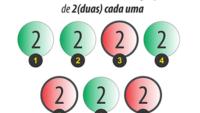 Jogo Mega Sena (14 dezenas em grupos)
