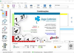 Conceito do Joga Loterias Profissional 2.7