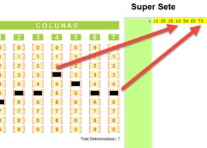 Entendendo os números do Super Sete